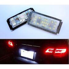 FEUX ECLAIRAGE DE PLAQUE LED BLANC BMW SERIE 7 E65 E66 DE 11/2001 A 07/2008