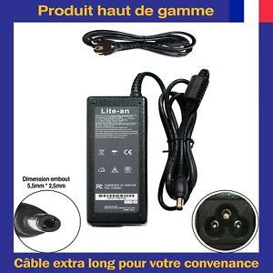 Chargeur d'Alimentation 19V 4.7A 90W Pour Asus K55V K55VD K55VM X555LA X75A X53E