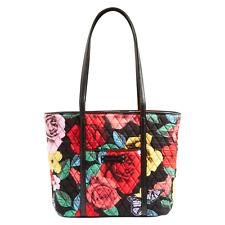 Vera Bradley - Small Trimmed Vera - Tote Bags Havana Rose, Santiago, Havana Dots