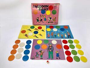 Vintage Balloon Play & Learn Educational Game Merit Randall England Ravensburg