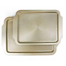 2-Piece Baking Sheet, 11x15.75/10x13.75 Non-stick Cookie Sheet Pan Bakeware Set