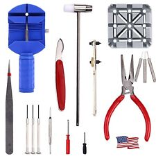 Resizing Kits Case Opener Spring Set 16 pcs Professional Watch Band Repair Tools