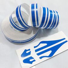 12mm Striping Pin Stripe Steamline DOUBLE LINE Tape Car Decal Auto sticker Blue