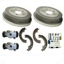 Rear Brake Drums Shoes Spring Kit Wheel Cylinder fits Toyota Corolla 2009-2019