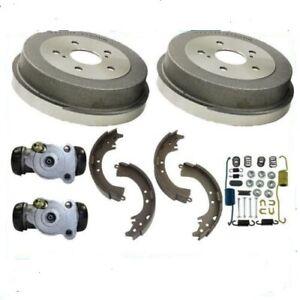 Rear Brake   Drums Shoes Spring Kit Wheel Cylinder fits 1992-2000 HONDA  CIVIC