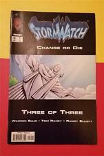 STORM WATCH COMIC SUPER HEROES No 50 JULY IMAGE COMICS * CHANGE or DIE 3 of 3
