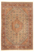 """Hand-knotted  Carpet 7'9"""" x 12'0"""" Royal Mahal Traditional Wool Rug"""
