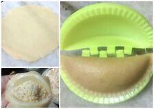Indian Gujiya Gunjiya Sancha Plastic Dumpling Maker Set of 3 Pcs Kitchen Tool
