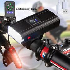 Mountain Bicycle LED Road Bike Front Light 5 Modes Headlamp Headlight Rear Lamp