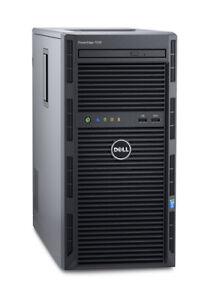 Dell PowerEdge T130 4B/E3-1230v6 3.5GHz/32GB/H330/2TB SSD/Windows Server 2019