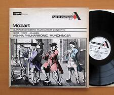 SDD 155 Mozart Clarinet Flute Harp Concertos Munchinger Decca (= SXL 2054) EX/EX