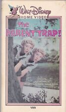 The Parent Trap - Hayley Mills  [Rare Original 80's VHS Release] [Disney]