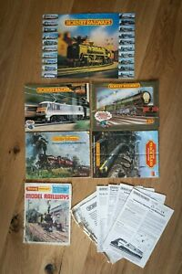 TRIANG / HORNBY MODEL RAILWAYS CATALOGUES and Sheets