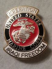 US Marine Corp Operation Iraqi Freedom Pin
