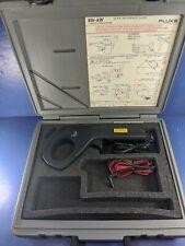 Fluke 80i Kw Current Power Probe Excellent Hard Case Accessories