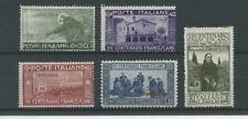 COLONIE TRIPOLITANIA 1926 S.FRANCESCO 5V. **