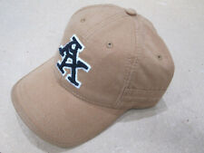 "A. KURTZ Varsity Baseball Cap Cotton Adjustable Snap D-Ring Back ""Brown"""