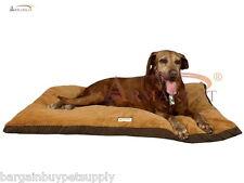 Armarkat Soft Plush Dog Puppy Pet Bed Mat Mocha/Brown Washable LARGE