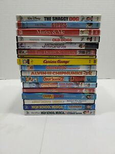 Lot of 17 DVDs Disney Children's And Family Movies! Free Shipping!