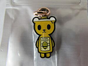 Jujube Tokidoki Kawaii Carnival Friends Zipper Pull Bee Sweet Natural Honey Bear