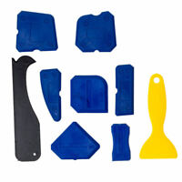 9pcs Durable Sealant Smoothing Kit Sink Silicone Grout Spreader Caulk Tools