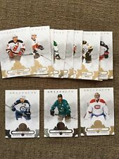 2017-18 UPper Deck Artifacts, Pick 6 Cards, Complete Your Set