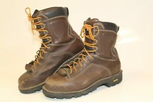 """Danner 14548 Mens 10 44  D Mens Leather Quarry 8"""" Outdoor Work Boots Alloy Toe"""