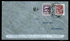 Brasilien Varig V 22, auf Luftpost-Brief Porto Alegre 29.6.34