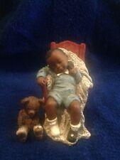 All God's Children Collectibles - Garrett & Peek -a-Boo Bear By Martha Holcombe