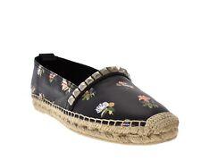 27c4ff590 Saint Laurent St Venice Flower Espadrilles Leather Size 9/39 New