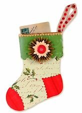Sizzix Stocking Gift Card Holder Bigz XL die #658744 Retail $39.99 SO FUN!!