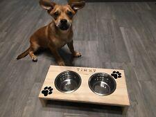 Profi Futterstation für Hunde, Futterbar, Fressnapf, Napfständer, Hunde