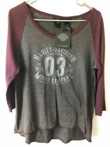 Harley Davidson Women's Shirt Large New With Tags