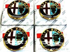 ALFA ROMEO 147/156 ORIGINALE CERCHI COPERCHIO COPERCHIO MOZZO COPRIMOZZO 60652886 50mm