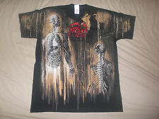 DEATH-SHIRT ALLOVER HUMAN NEW CULT RARE!!!