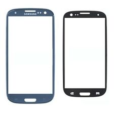 Glass Front Cover Screen Replacement for Samsung Galaxy S3 BLUE