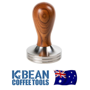 K Bean Coffee Tamper - 58.5mm - FACTORY SECOND - SCRATCHES