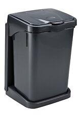 Einbau Abfalleimer Doory plus Anthrazit Einbauabfallsammler mit Mülleimer 15l