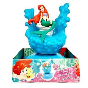 Disney Little Princess Sprinkler Little Mermaid Ariel Spinning Water Spraying