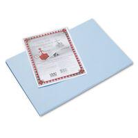 Pacon Riverside Construction Paper 76 lbs. 12 x 18 Light Blue 50 Sheets/Pack