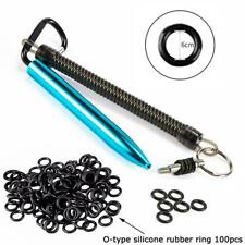 Wacky Worm Kits Rig Tool & 100Pcs O Rings For Fishing V8C7 Sport Good &O U3 O7P0
