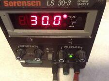 Sorensen LS30-3 Power SUpply 30VDC 3A