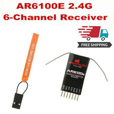 AR6100E DSM2 2.4GHz ML 6-Channel Microlite Receiver for JR SPECTRUM/RC Plane US