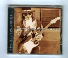 STEVIE RAY VAUGHN & DOUBLE TROUBLE CD (NEW) LIVE AT CARNEGIE HALL