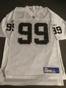 Oakland Raiders #99 Home Warren Sapp M