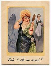 """Vintage French Lingerie Sales Brochure """"Le Corset Ceinture 'Le Select'"""" [Great!]"""