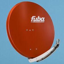 Fuba DAA 850 R rot Satellitenschüssel 85cm Sat Spiegel Antenne Sat Anlage HDTV