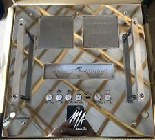 New Old School MA Audio HC502 Rack Mount 2 Channel amplifier,Rare,.5 Ohm Stable