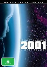 2001 - A Space Odyssey DVD BRAND NEW TOP 250 MOVIES BEST FILM SCI-FI 2-DISCS R4