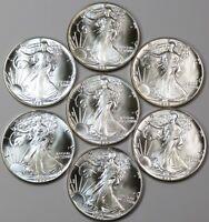 "1988 BU ""SET BUILDER"" UNC Silver American Eagle Dollar $1 SAE OZ .999 US Coin"